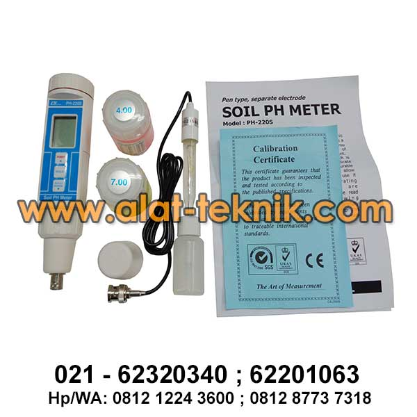 Soil Tester Lutron pH-220S
