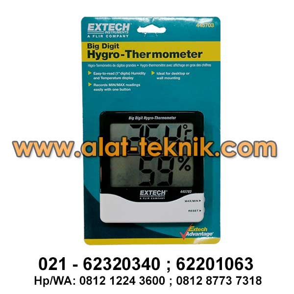 Thermohygrometer Extech 445703