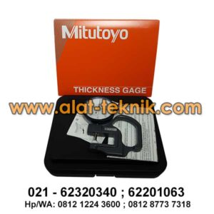 Thickness Gauge Mitutoyo